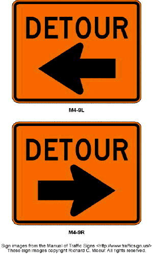 Where to find SIGN, DETOUR W ARROW  SMALL in Durango
