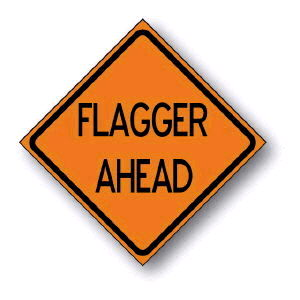 Where to find SIGN, FLAGGER AHEAD in Durango