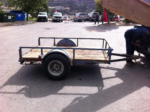 Where to find TRAILER, 5  x 8   3500 LB in Durango