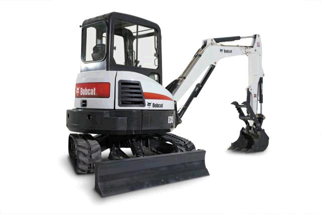 Where to find EXCAVATOR BOBCAT E 35 W THUMB in Durango