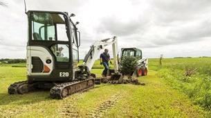 Where to find EXCAVATOR BOBCAT E 20 WITH THUMB in Durango