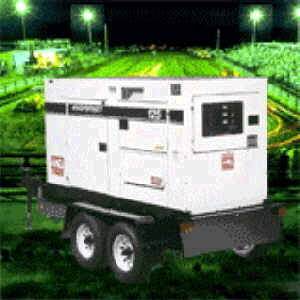 GENERATOR 45KW TOW BEHIND Rentals Durango CO, Where to Rent