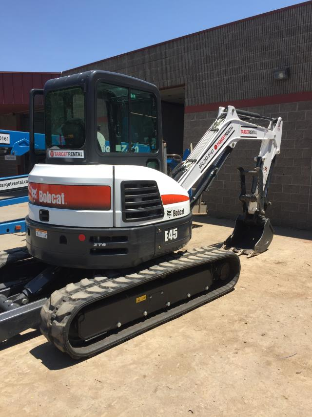 Where to find EXCAVATOR BOBCAT E 45  01 W THMB ANG BLD in Durango