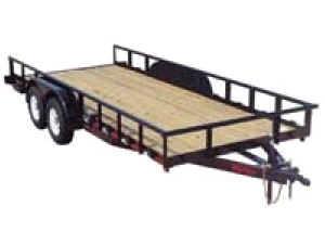 Where to find TRAILER, 16,000 LB  P. J . W RAMPS in Durango