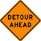 Where to rent SIGN, DETOUR AHEAD TWO-SIDED in Durango CO