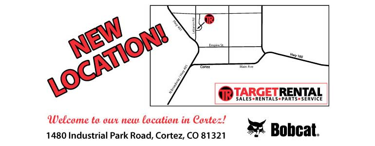 Target Rental new location in Cortez CO
